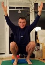 Fitness-Adventskalender 2014, 2. Türchen -tiefe Hocke-