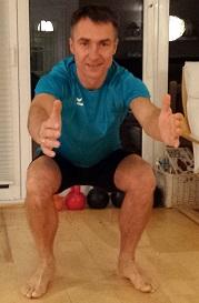 Fitness-Adventskalender 2014, 3. Türchen – Die Kniebeuge-