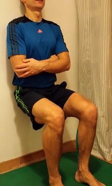 """Der Fitness-Adventskalender 2014, 13. Türchen -""""Der unsichtbare Stuhl""""-"""