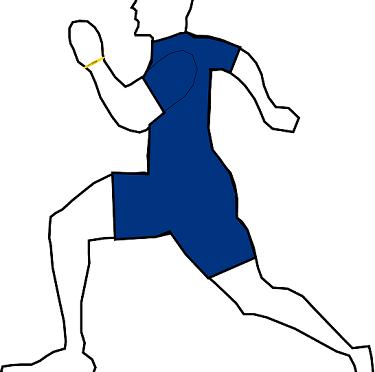 Sprinten und der Ausdauerläufer