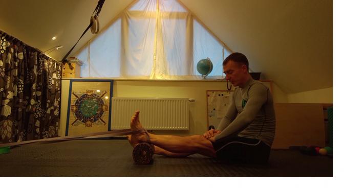 Beweglichkeits-Adventskalender 2016, 19. Türchen -Beine; Knie-