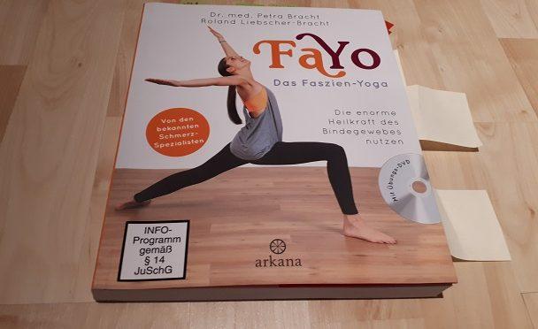 Bücher-Adventskalender 2017, 21. Türchen, FaYo Das Faszien-Yoga