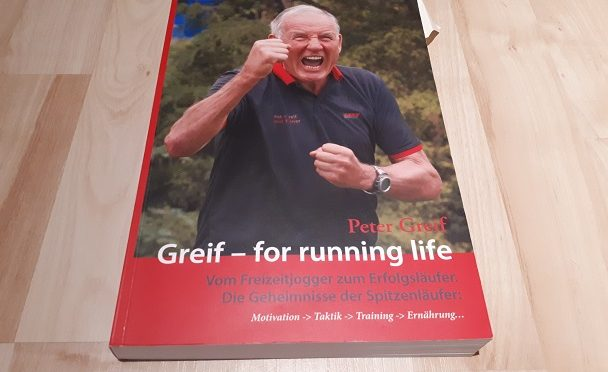 Bücher-Adventskalender 2017; 3. Türchen, Greif – for running life
