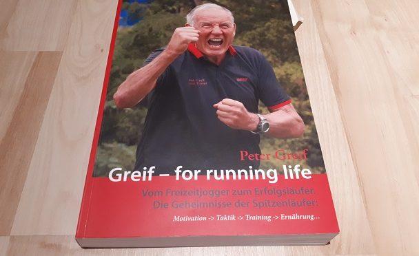 Bücher-Adventskalender 2017; 3. Türchen, Greif – for running life